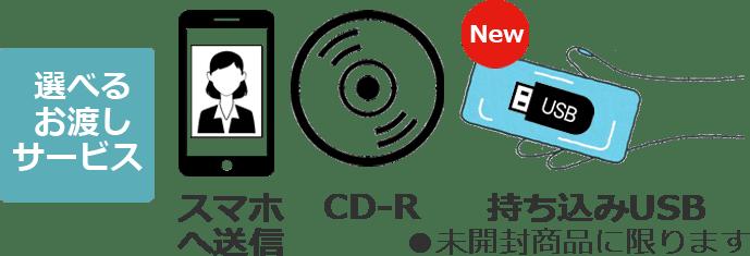 スマホ送信&CD可能